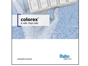 Colorex brochure cover