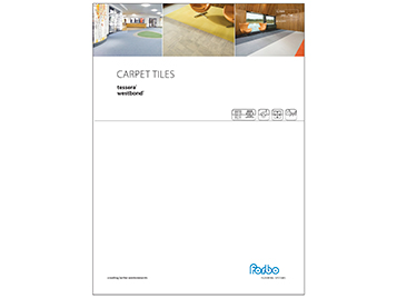 Carpet tile brochure