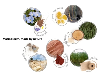 Marmoleum Raw Materials
